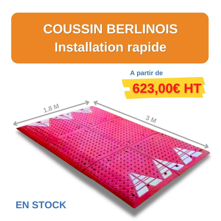 coussin berlinois - leader équipements